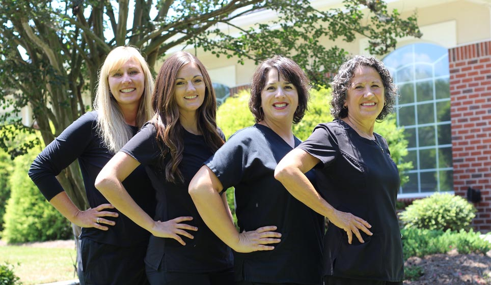 Left to Right: Renee Stoppelbein, Amber Oates, Angie Stroud, Diana Wells
